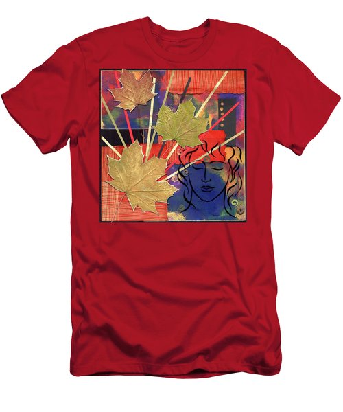 Michael The Angel Men's T-Shirt (Athletic Fit)