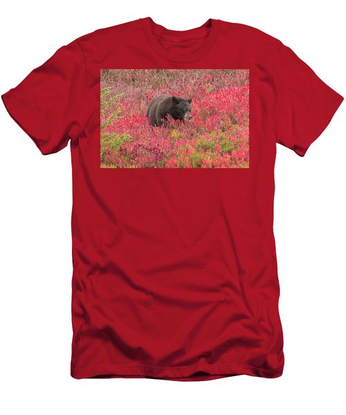 Berries For The Bear Men's T-Shirt (Athletic Fit)