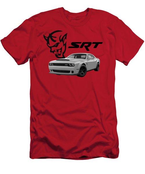 Dodge Demon Men's T-Shirt (Athletic Fit)