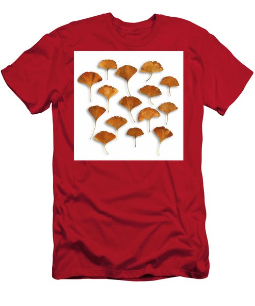 Men's T-Shirt (Athletic Fit) featuring the photograph Gingkos Fall by Mark Shoolery