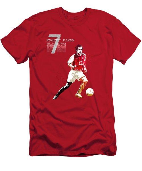 Robert Pires - The Invincibles Men's T-Shirt (Athletic Fit)