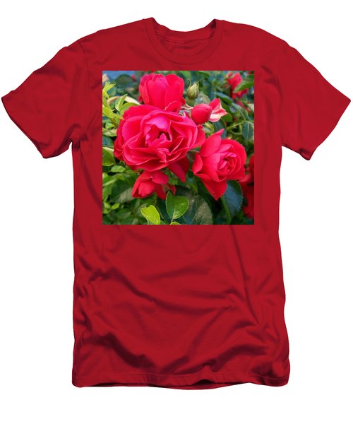 Rose Is A Rose  Men's T-Shirt (Athletic Fit)