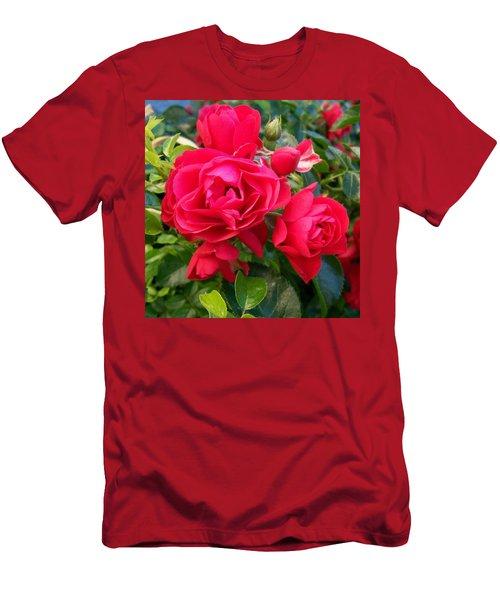 Rose Is A Rose  Men's T-Shirt (Athletic Fit)