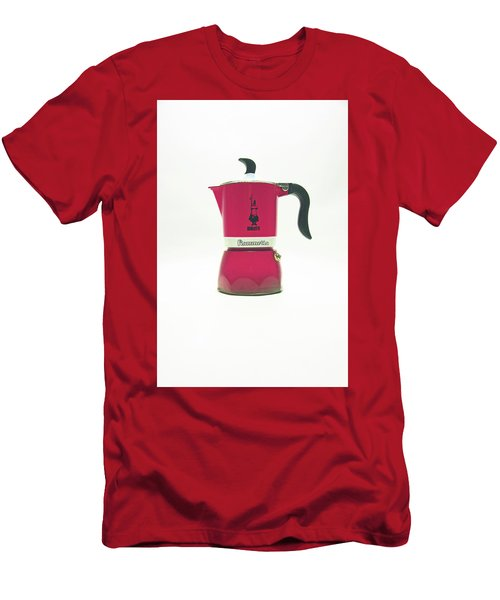 10-05-19 Studio. Red Cafetiere. Men's T-Shirt (Athletic Fit)