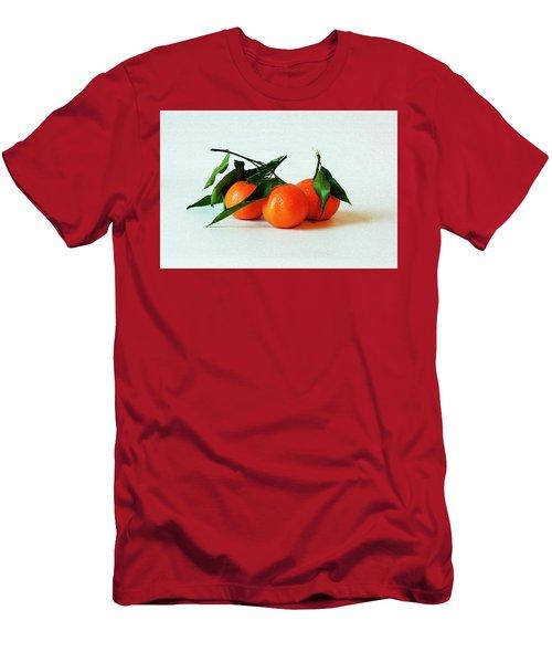 11--01-13 Studio. 3 Clementines Men's T-Shirt (Athletic Fit)