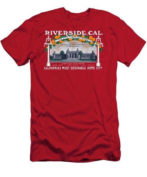 1914 Riverside California Men's T-Shirt (Athletic Fit)