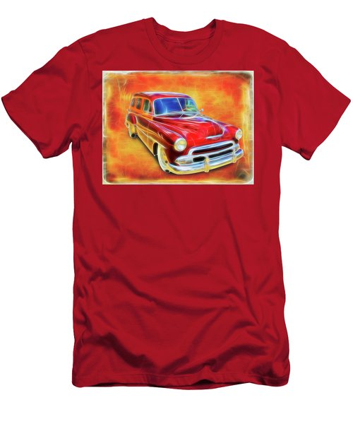 1951 Chevy Woody Men's T-Shirt (Athletic Fit)