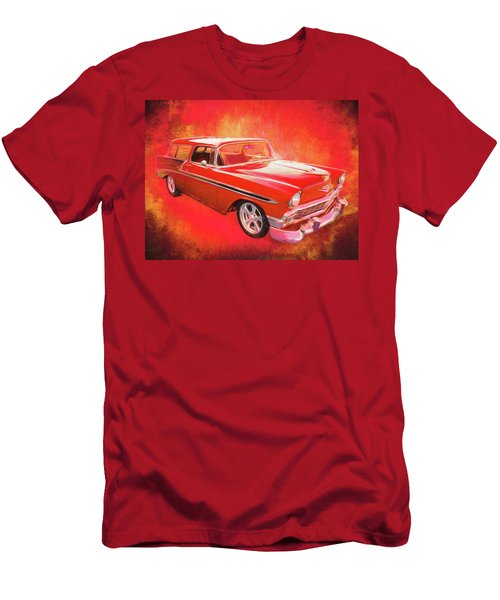 1956 Chevy Nomad Men's T-Shirt (Athletic Fit)
