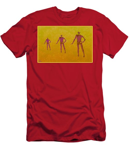 Male In Perspective Men's T-Shirt (Athletic Fit)