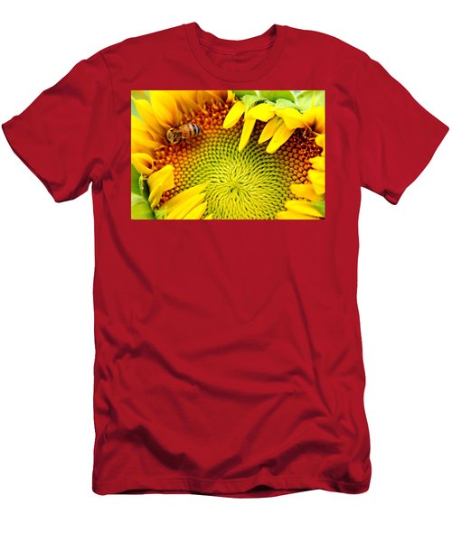 Peek-a-boo Men's T-Shirt (Athletic Fit)