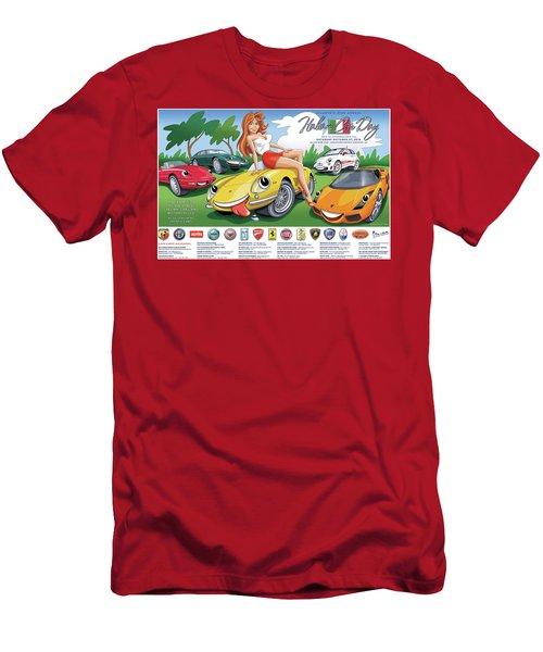 2018-2019 Atlanta Italian Car Day Poster Men's T-Shirt (Athletic Fit)