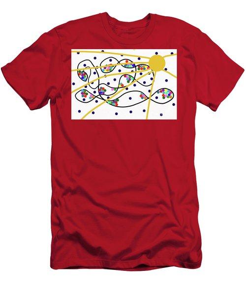 3-13-2010f Men's T-Shirt (Athletic Fit)