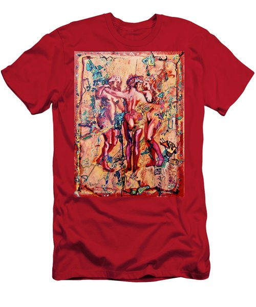 3 Virgins - Rubens, Airbrush 1990 Men's T-Shirt (Athletic Fit)