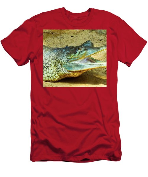 Saw Teeth Men's T-Shirt (Athletic Fit)