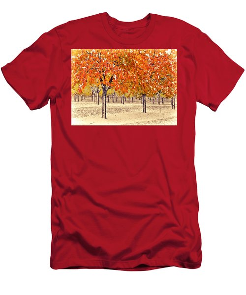A Touch Of Winter Men's T-Shirt (Athletic Fit)