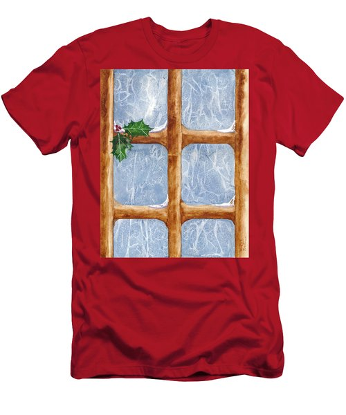 A Visit From Jack Frost Men's T-Shirt (Athletic Fit)