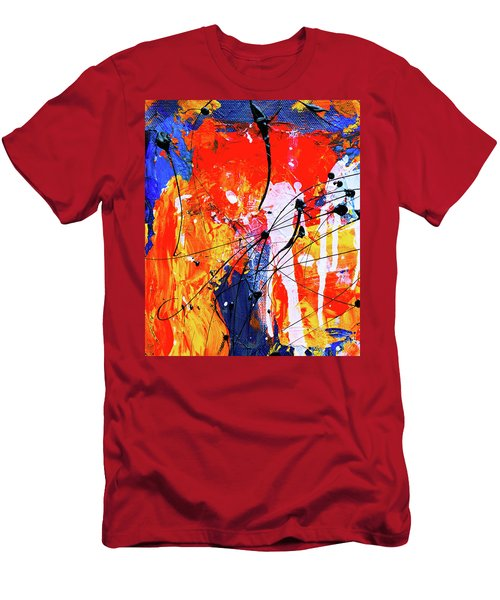 Men's T-Shirt (Athletic Fit) featuring the painting Ab19-15 by Arttantra