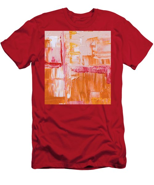 Men's T-Shirt (Athletic Fit) featuring the painting Ab19-4 by Arttantra