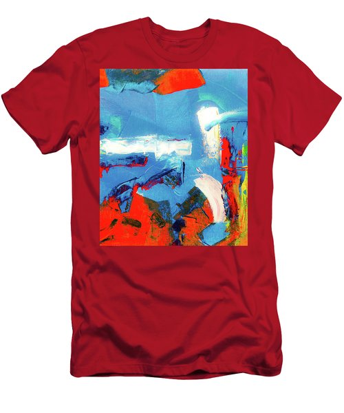 Men's T-Shirt (Athletic Fit) featuring the painting Ab19-6 by Arttantra