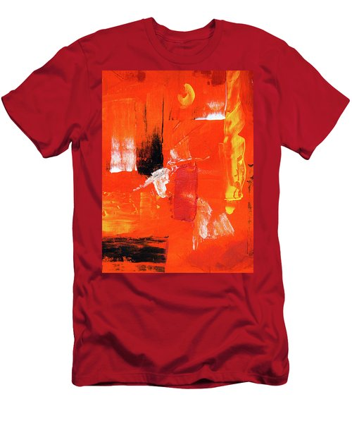 Men's T-Shirt (Athletic Fit) featuring the painting Ab19-8 by Arttantra