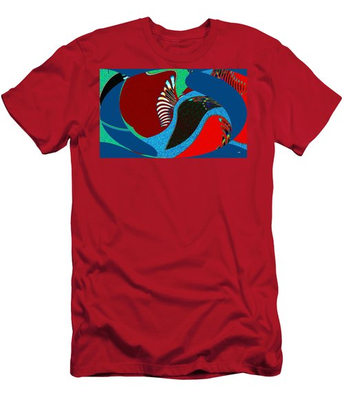 Abstract Decor 8 Men's T-Shirt (Athletic Fit)