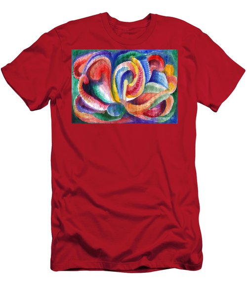 Abstraction Bloom Men's T-Shirt (Athletic Fit)