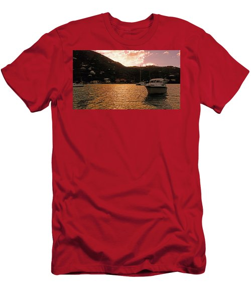 Abstractions Of Coral Bay Men's T-Shirt (Athletic Fit)