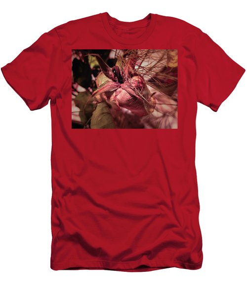 Men's T-Shirt (Athletic Fit) featuring the photograph From Series Ageing Of The Skin 1  by Juan Contreras