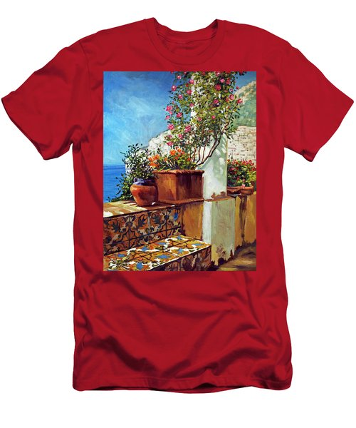 Amalfi Coast Impressions Men's T-Shirt (Athletic Fit)