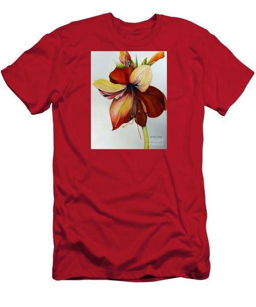Amerylis/amaryllis  Men's T-Shirt (Athletic Fit)