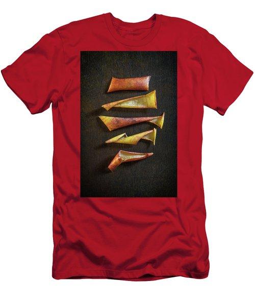 Apple Peel Men's T-Shirt (Athletic Fit)