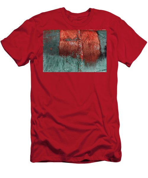 Men's T-Shirt (Athletic Fit) featuring the photograph Art Print Abstract 28 by Harry Gruenert