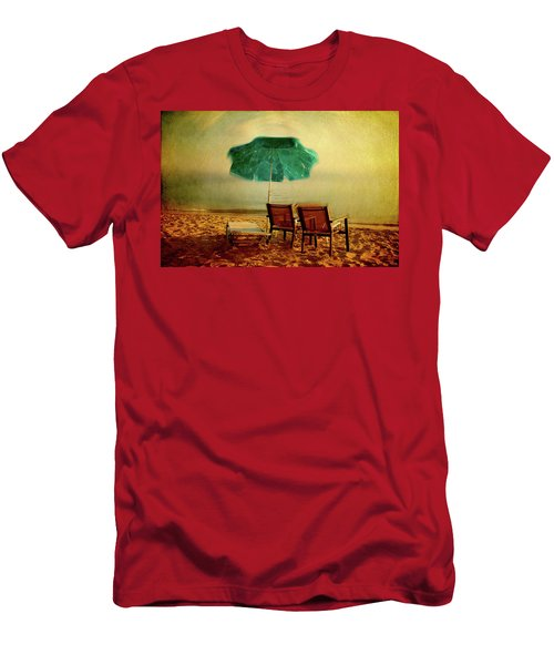 Men's T-Shirt (Athletic Fit) featuring the photograph At The End Of The Day by Milena Ilieva