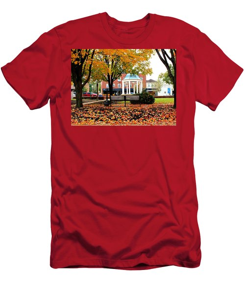 Autumn Gatherings  Men's T-Shirt (Athletic Fit)