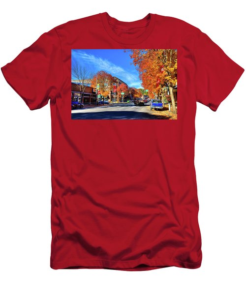 Men's T-Shirt (Athletic Fit) featuring the photograph Autumn In Pullman by David Patterson