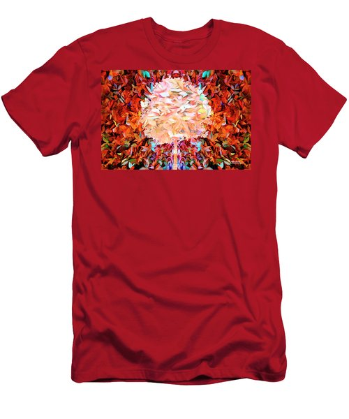 Men's T-Shirt (Athletic Fit) featuring the photograph Autumn Leaves by Mike Braun