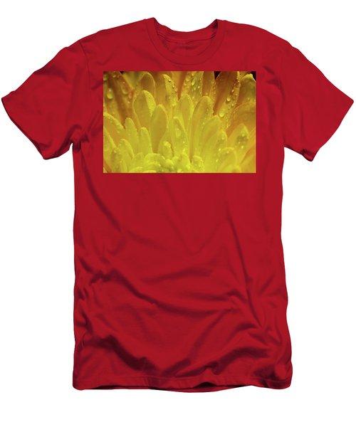 Autumn Macro-1 Men's T-Shirt (Athletic Fit)
