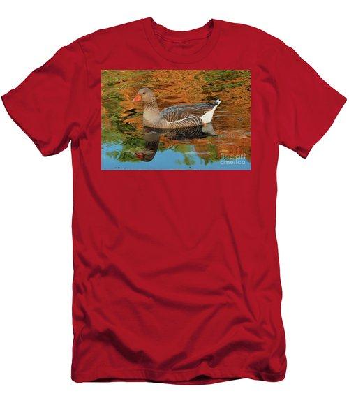 Autumn Swim Men's T-Shirt (Athletic Fit)
