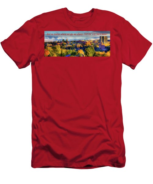 Men's T-Shirt (Athletic Fit) featuring the photograph Back Home 3 by David Patterson