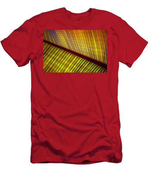 Men's T-Shirt (Athletic Fit) featuring the photograph Banana Leaf 8603 by Mark Shoolery