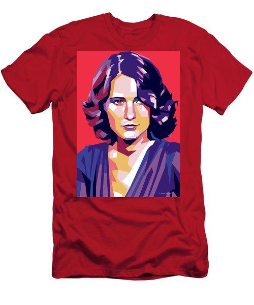Barbara Stanwyck Men's T-Shirt (Athletic Fit)