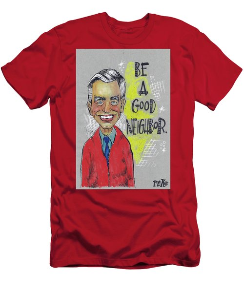 Be A Good Neighbor Men's T-Shirt (Athletic Fit)