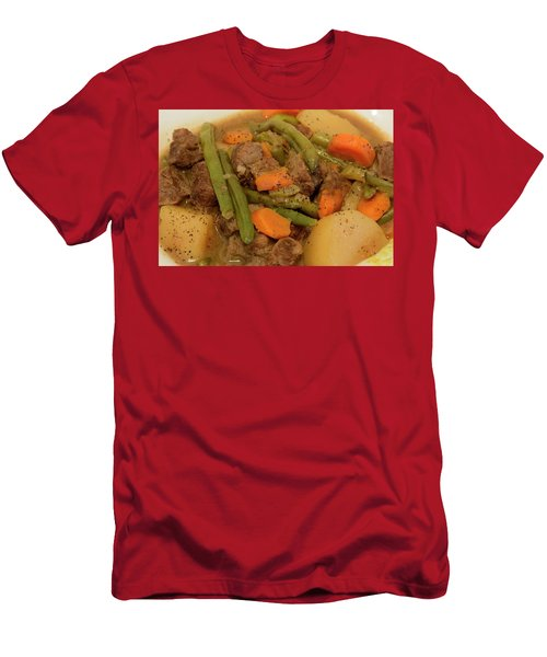 Beef Stew Serving Men's T-Shirt (Athletic Fit)