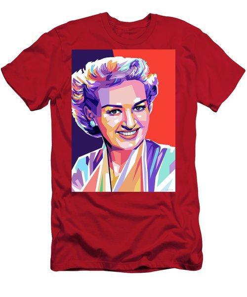 Betty Grable Pop Art Men's T-Shirt (Athletic Fit)