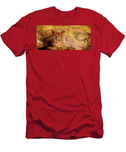 Bisons Horses And Other Animals Men's T-Shirt (Athletic Fit)