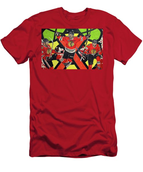 Blackhawks Authentic Fan Limited Edition Piece Men's T-Shirt (Athletic Fit)