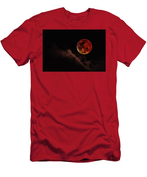 Blood Moon Rising Men's T-Shirt (Athletic Fit)
