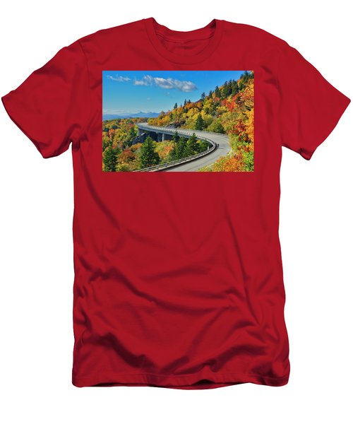 Blue Ridge Parkway Viaduct Men's T-Shirt (Athletic Fit)