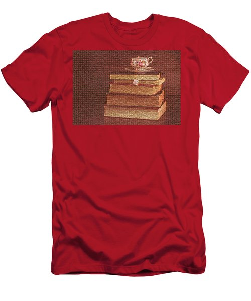 Books Or Coffee? Men's T-Shirt (Athletic Fit)