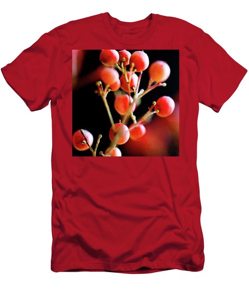 Men's T-Shirt (Athletic Fit) featuring the photograph Brazilian Pepper 0423 by Mark Shoolery